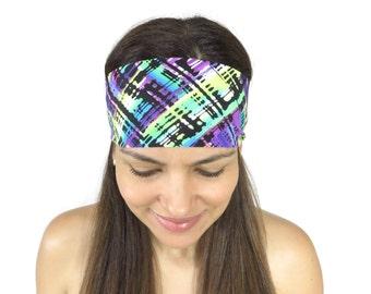 Yoga Headband Workout Headband Running Headband Wide Headband Fitness Headband No Slip Headband Fashion Headband Women Head Wrap S127