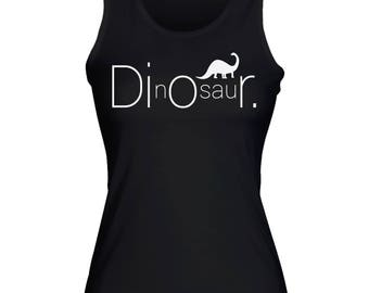 DInOsauR Fashion Brand Women's Tank Top Shirt