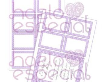"""Cartel y etiquetas para el """"Arbol de los deseos""""..."""