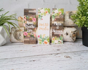 Book Lover Gift- Easter Basket FIller - Bookmark - Book Club Gift - Gift For Her - Women's Gift Idea - Birthday Gift Idea - Book Nerd