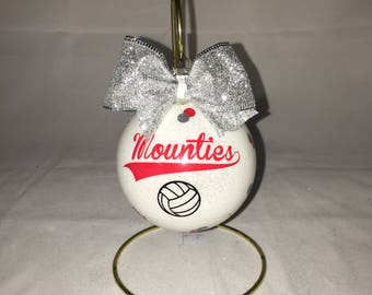Christmas ornament personalized volleyball player Ornament volleyball, volleyball team, volleyball players, team ornament volleyball players