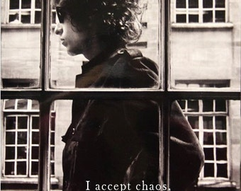 Bob Dylan Quote 16 x 20 poster