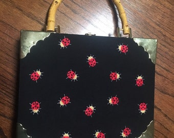 Ladybug Cigar box purse handbag