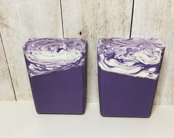 Lavender Chamomile Type Soap, Handmade Soap, Cold Process Soap, Bar Soap, Artisan Soap