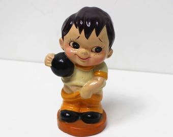 Vintage Bowling Child Bank - Pants on the Ground