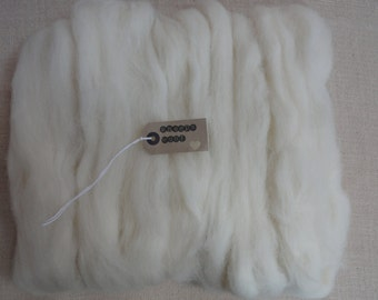 100g needle felting wool - (dorset horn)