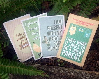 Affirmations for new mothers | Inspiration for new mothers | Positive affirmations | Baby shower gift