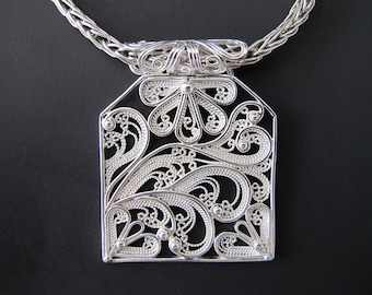 Breeze 935 Argentium Sterling Silver Necklace