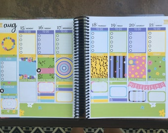 Bright Vines Weekly Kit (109 Planner Stickers)