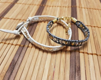 Handmade bracelets with affection