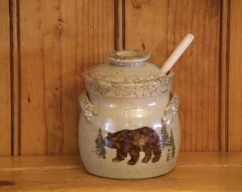 Woodland Honey Pot