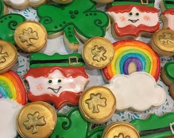 St. Patricks Day Cookie Platter