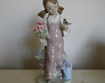 Lladro - Spring Girl Figurine 01005217 Authentic