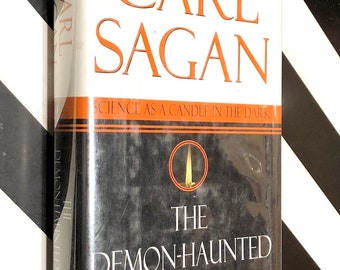 The Demon-Haunted World by Carl Sagan (1996) hardcover book