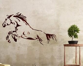 Wall Stencils Horse stencil Large Template For DIY Room Decor Wall Graffiti art