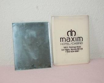 Maxim Hotel Casino, Mirror, sleeve, Flamingo Rd, Las Vegas, pocket,