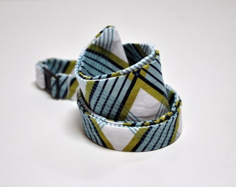 Freestyle Bowtie for Men Lake Blue Picnic Plaid OTHER COLORS AVAILABLE