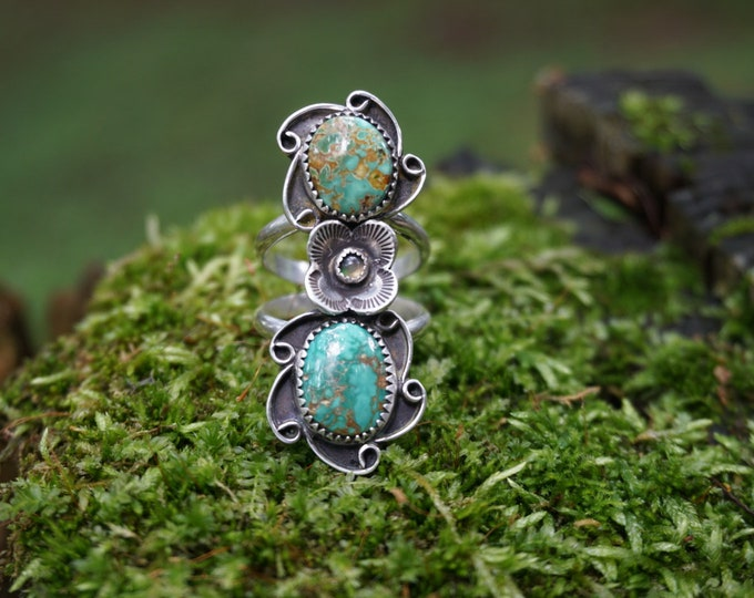 Royston Turquoise Forest Fairy Ring