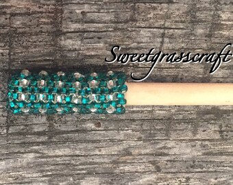 Beaded Hair stick, Native Beaded Hair stick, Hair Jewelry, Hair accessories