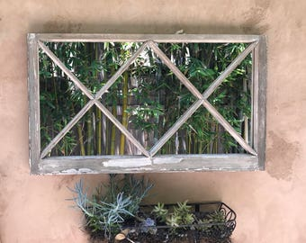 Rare Vintage window mirror
