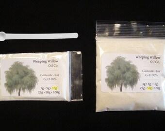 Gibberellic Acid 90% GA3 - 1 5 10 25 50 g Gram Plant Growth Hormone Regulator