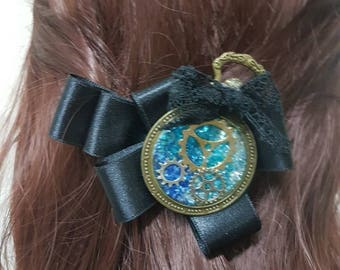 Steampunk hairpin