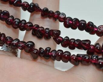 Natural garnet beads,  Faceted Garnet Beads, Beading Supplies, 4-6mm garnet beads, beading supplies, Garnet Stone,irregular garnet, NAT-003