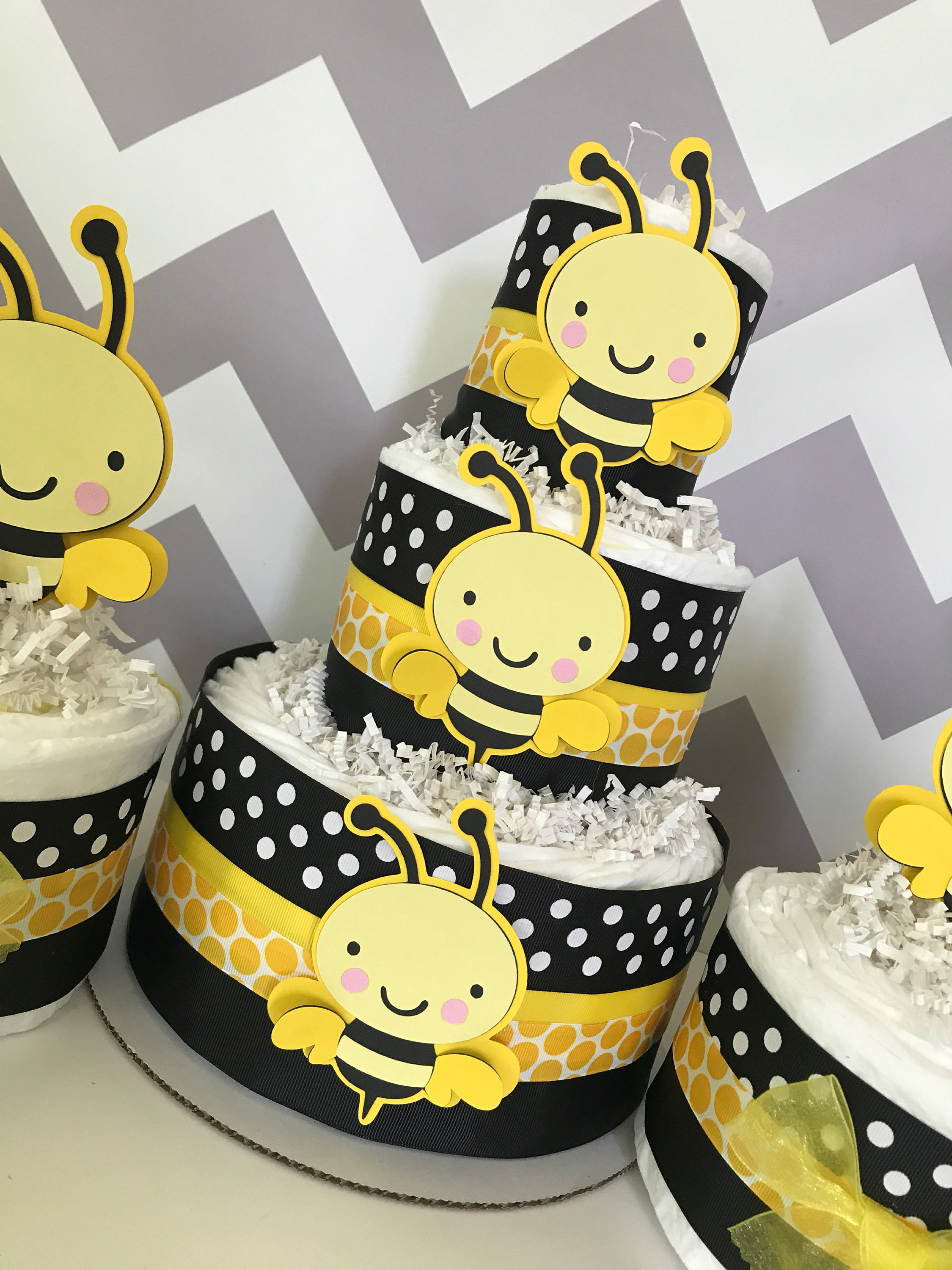 with decor baby in cheap bumble free plus themes decorations bee conjunction printable shower uk