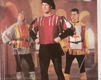 BOYS CRUSADES/MEDIEVAL McCall's Costumes Pattern 2664 Boys Sizes 3-4