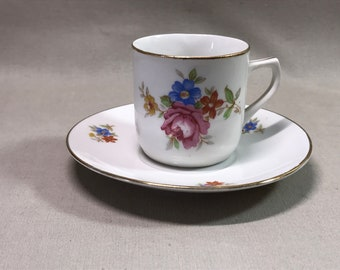Bayreuth Germany US-Zone Cup and Saucer