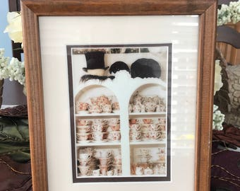 TEA - Framed Teacup Print