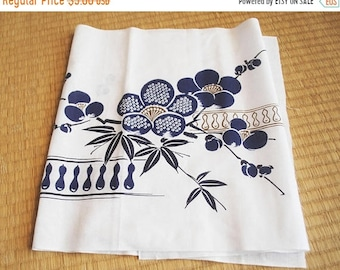 Japanese Tenugui, cotton tenugui, Japanese gift, handtowel, cotton fabric, handmade gift, handmade handtowel, cotton handtowel, japanese ar