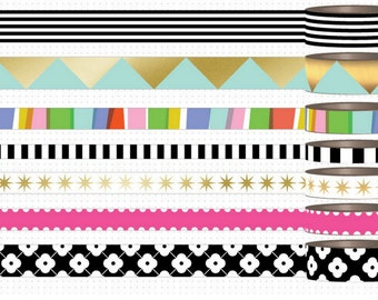Me and My Big Ideas - My Life  - 24 Inch Washi Tape  Samples Create 365 Collection  Happy Planner Mambi