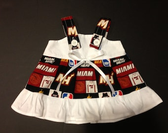 NBA Miami Heat Baby Infant Toddler Girls Dress  You Pick Size