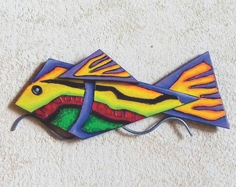 Fish, exotic flora and fauna handicrafts for home decor or a special gift