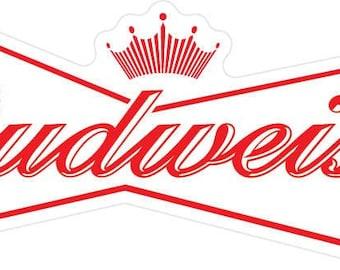 Budweiser Bottle Etsy