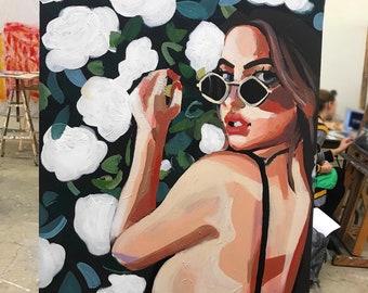 Flower Girl- MackenziePaints