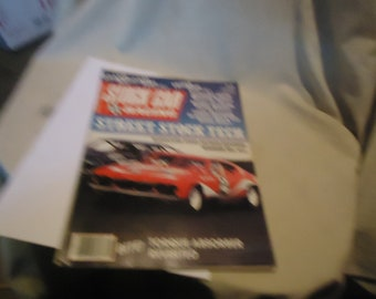 Vintage August 1983 Stock Car Racing Magazine, collectable