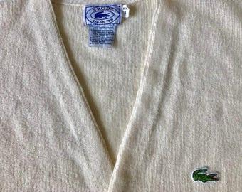 Vintage Izod Lacoste Cardigan