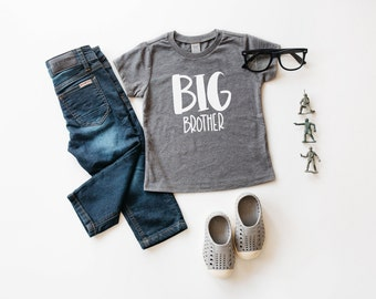 New! Handlettered big brother t-shirt   big bro shirt   brother  family photos   new brother   big brother gift   pregnancy announcement