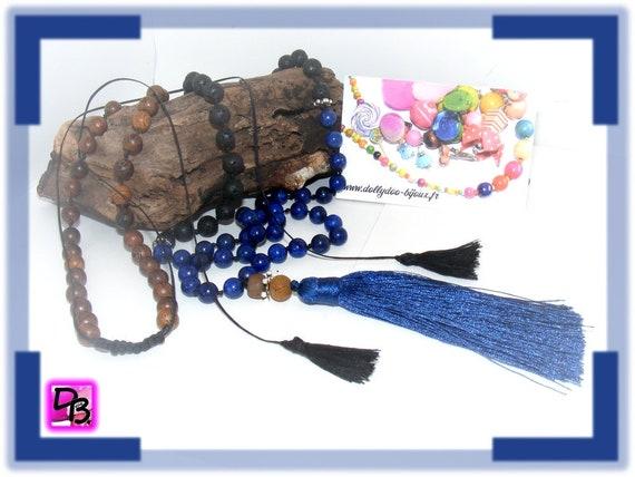Sautoir [lapis lazuli]