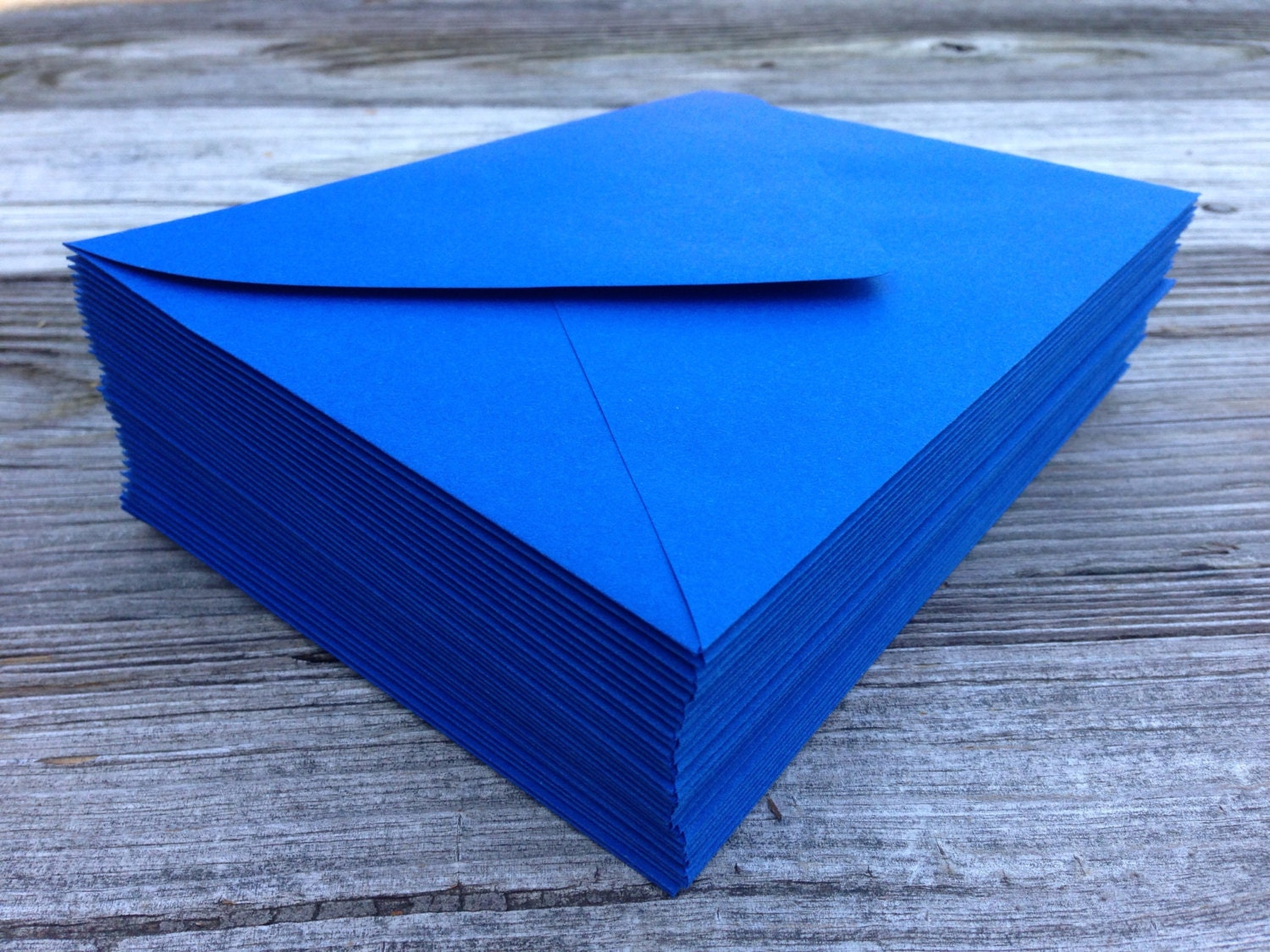Set of 50 Royal Blue A7 5x7 Invitation or A1 4Bar RSVP