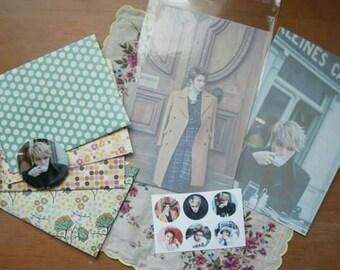 Jaejoong stationery gift set