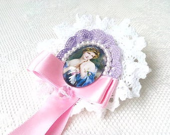 Madame Fragonard (brooch)