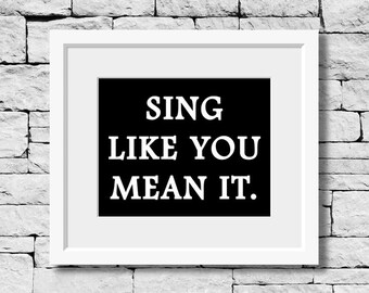 Sing Quote, Singer, Music Teacher, Music Room Decor, Student Musician, Music Student, Music Art, Music Quote, Music Poster