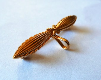 PIN backing plated old style gold good quality