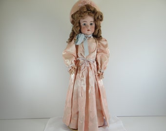 "Original 1902 Vintage 26"" Simon & Halbig Kammer Reinhardt 402 Beautiful Open Mouth Doll - Amazing"
