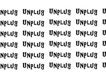 Unplug Wordy Icons WI0056