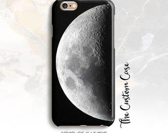 Moon Phone Case, Night Sky Iphone Case, Lunar Phone Case, Space Phone Case, iphone 8 case, Iphone X case, Note 8 case