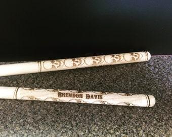 Drumsticks, Personalized Drumssticks, Drums, Drummer, gifts for drummer, Drummer gifts, Custom Drumsticks, Music gifts, Gifts for musician